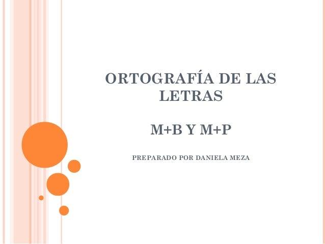 Ortografia mb
