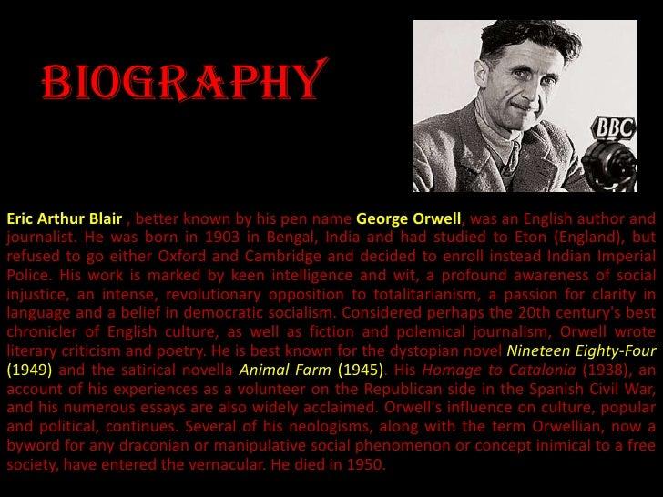orwellian society essay