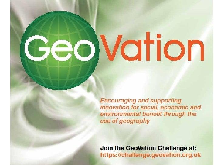 Chris Parker: GeoVation