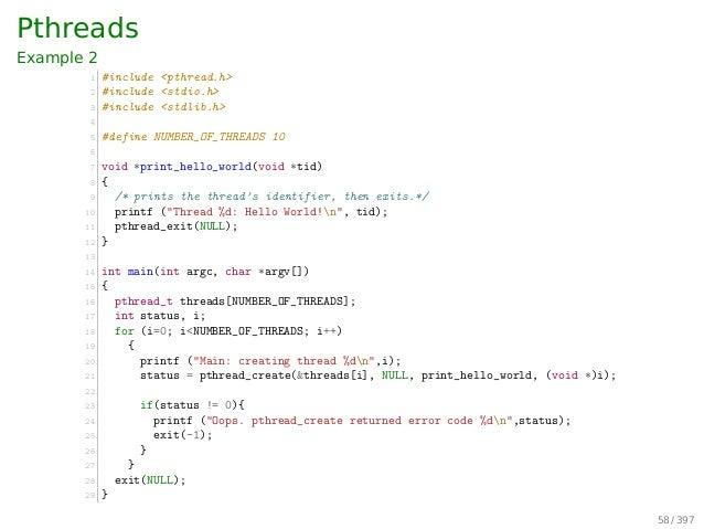 Hybrid Level Threads Kernel-level Threads Process