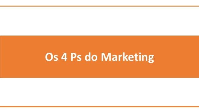 Os 4 Ps do Marketing