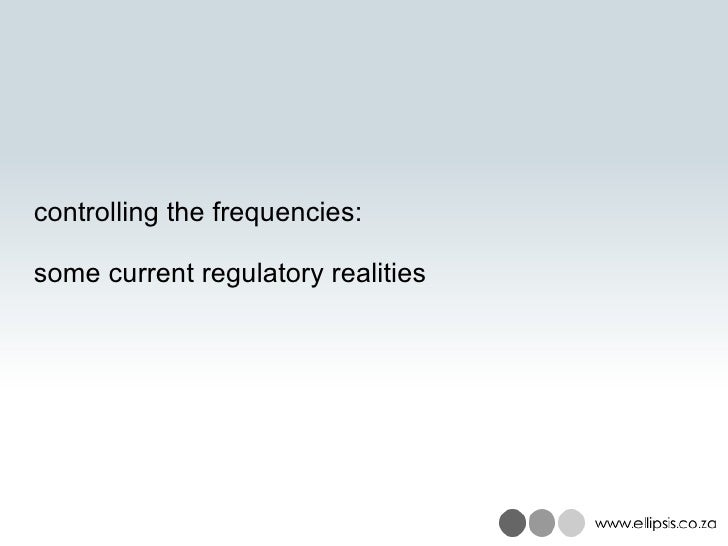 OSA regulatory realities