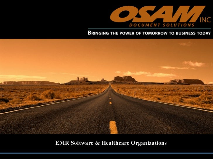 EMR Software & Healthcare Organizations