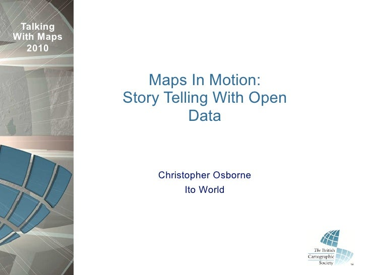 Story Telling With Open Data