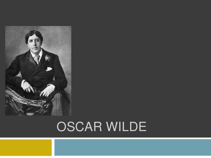 Oscar Wilde<br />