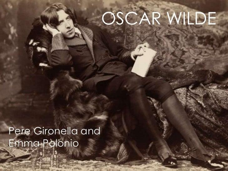 ORAL PRESENTATION OF OSCAR WILDE