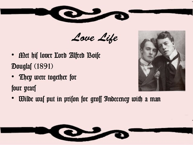 Image result for picture of Oscar Wilde and his lover Douglas