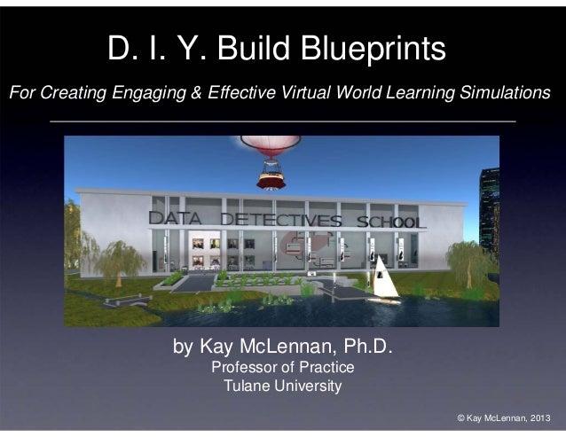 OSSC13 - McLennan - DIY Build Blueprints