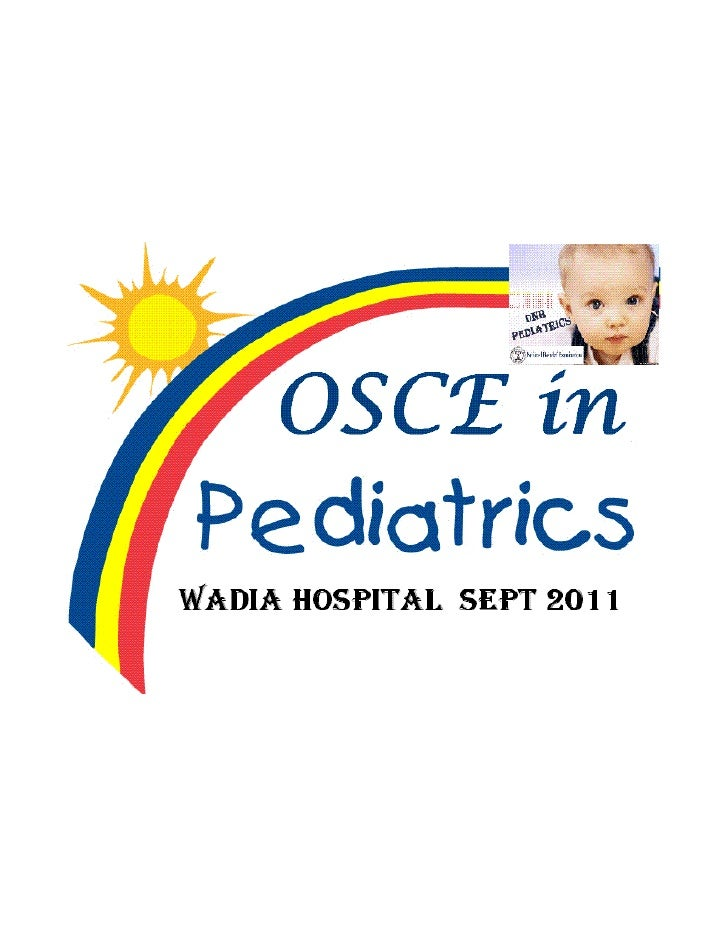 OSCE in Pediatrics (Wadia, Sept 2011)
