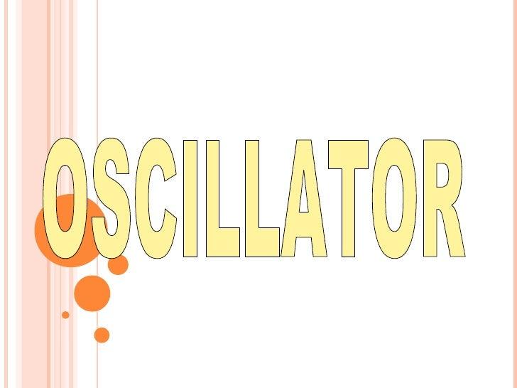 Oscillator multivibrotor