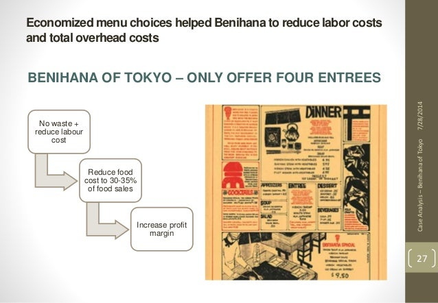 benihana of tokyo case Case opinion for us 2nd circuit benihana inc v benihana of tokyo llc read the court's full decision on findlaw.