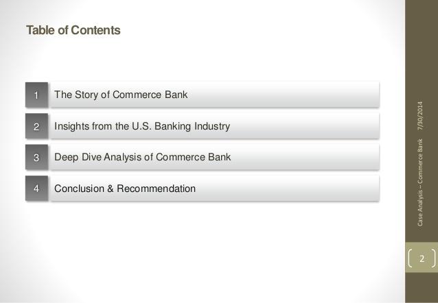 harvard business school commerce bank