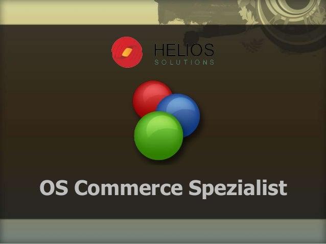 OS Commerce Spezialist