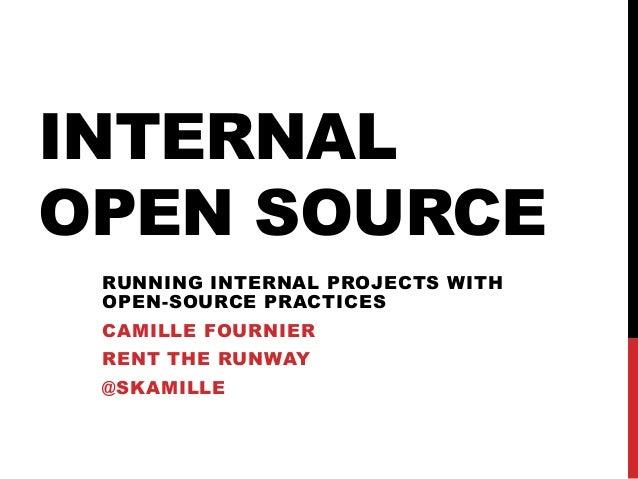 Internal Open Source