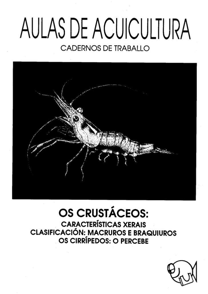 Os crustáceos