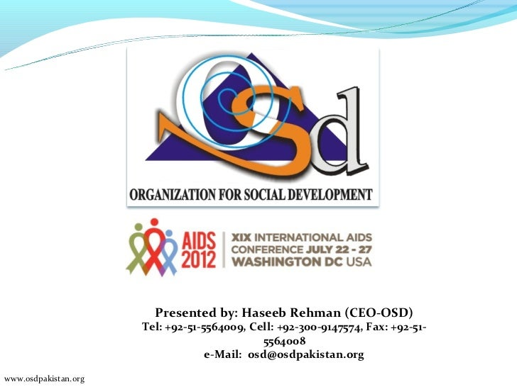 Osd implement harm reduction & hiv prevention