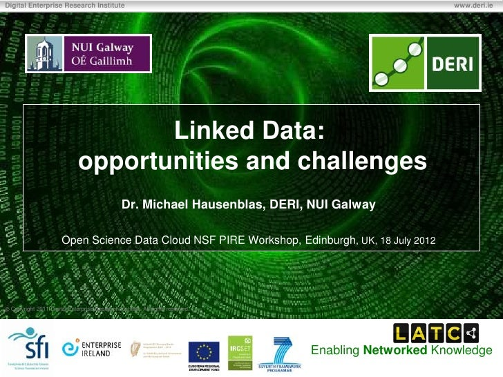 Linked Data: opportunities and challenges