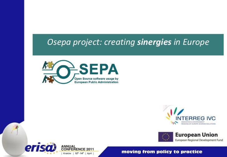 Osepa project: creating sinergies in Europe