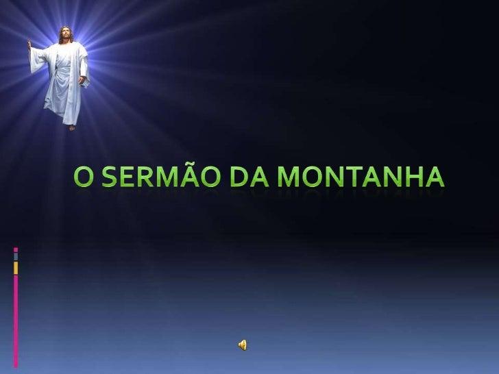O sermão da montanha cap6