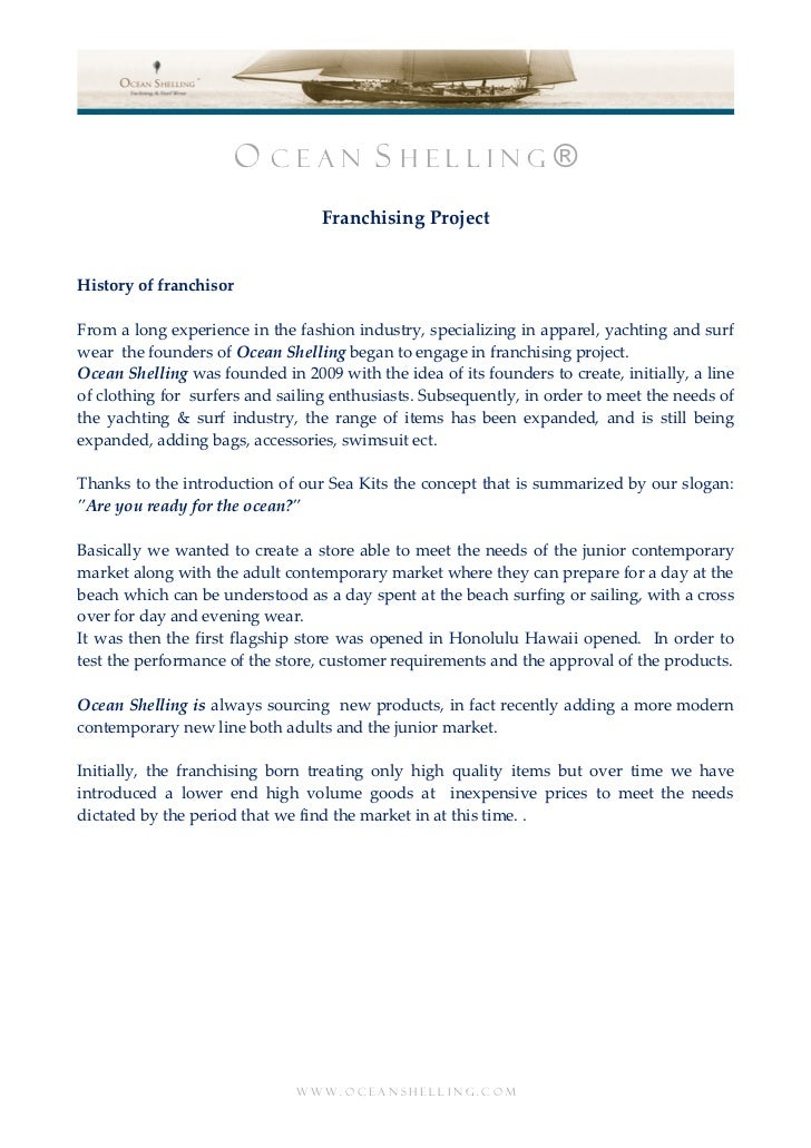OS Franchising Project UK IT