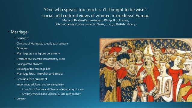 the relationship between women and religion in medieval europe In the medieval times, marriage was quite different than today women's lives in medieval europenew york, routledge:1993 previous government next religion.