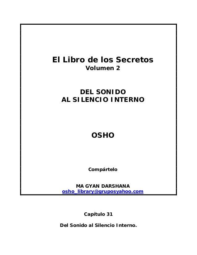 Osho   el libro de los secretos vol 02