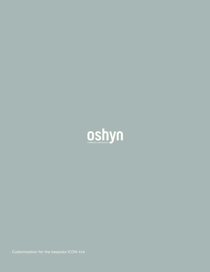 Oshyn Success Story: ICON 4x4
