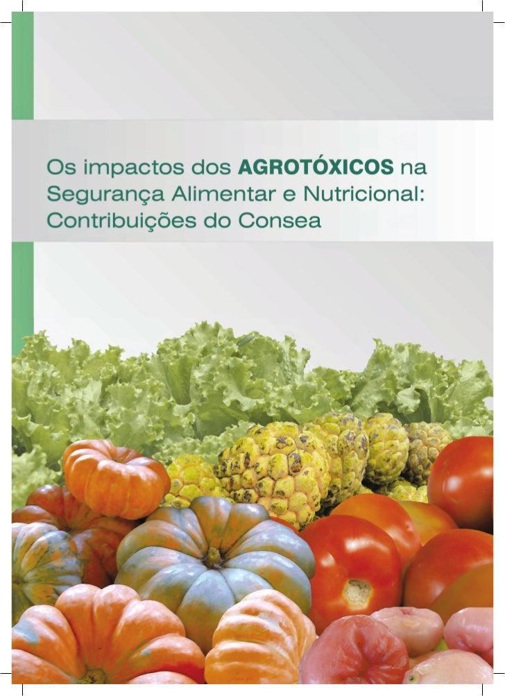Os impactos dos agrotóxicos na segurança alimentar e nutricional