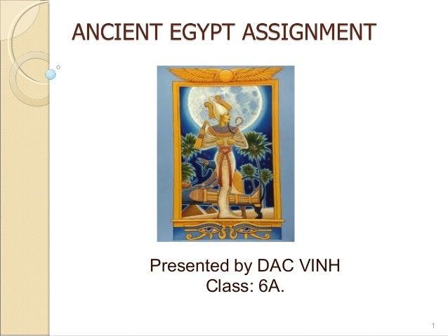 Osiris acient egypt assignment