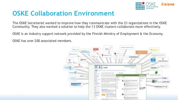 OSKE Collaboration EnvironmentThe OSKE Secretariat wanted to improve how they communicate with the 23 organizations in the...