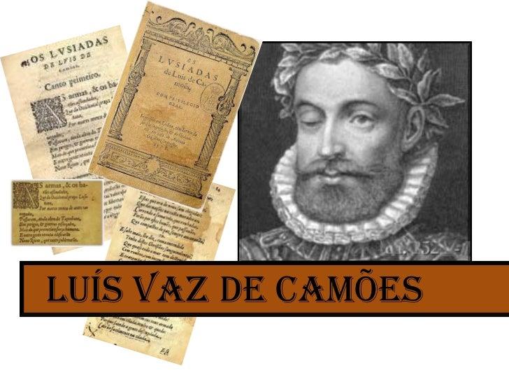 Luis de Camoes vida e obra resumo