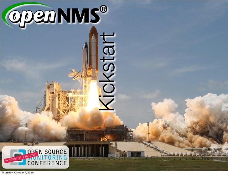 OSMC2010 Open NMS Kickstart