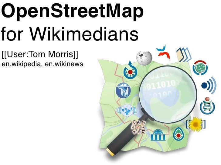 OSM for Wikimedians