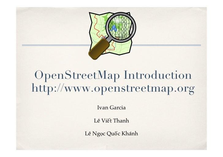 Giới thiệu OpenStreetMap