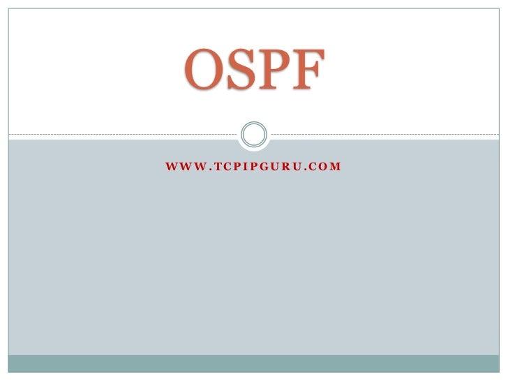 OSPFWWW.TCPIPGURU.COM