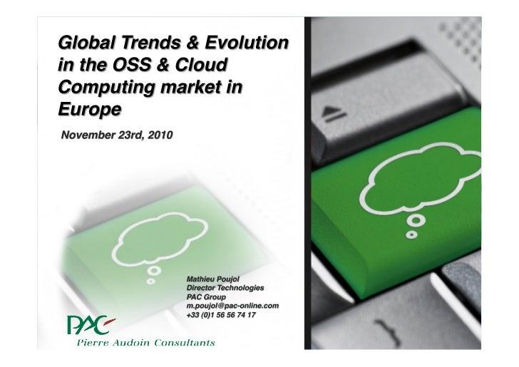 Open Source Market Overview OW2con11, Nov 24-25, Paris