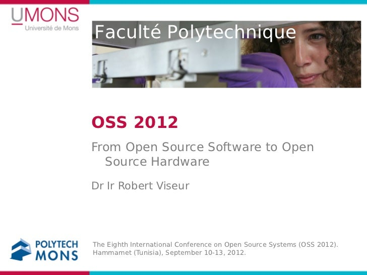 From Open Source Software to Open Source Hardware