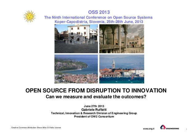 1 Creative Commons Attribution-Share Alike 3.0 Italia License www.eng.it June 27th 2013 Gabriele Ruffatti Technical, Innov...