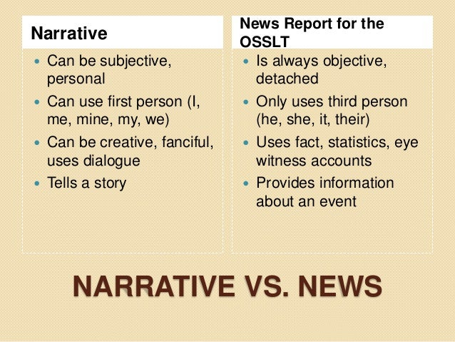 using dialogue in narrative essays Adding dialogue to your personal narrative: use quotation marks to need a speech tag for every line of dialogue, and there are.