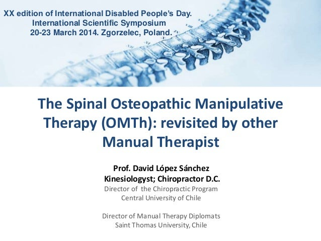 what is osteopathic manual therapy
