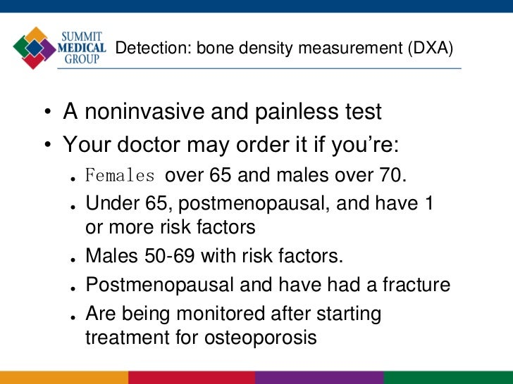 Monitoring Bone Density When You Have Osteoporosis
