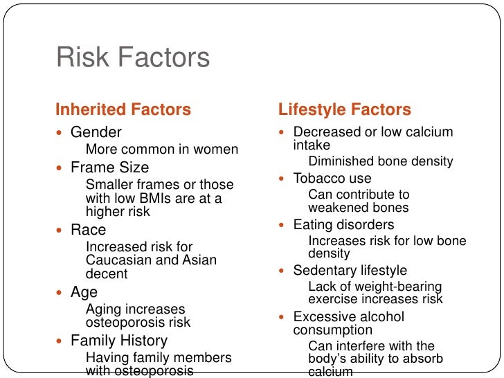 risk factors for osteoporosis and hip fractures Abstract risk factors for osteoporosis in post-menopausal women with hip fractures objective study design cross sectional study place & duration of study methodology key words.