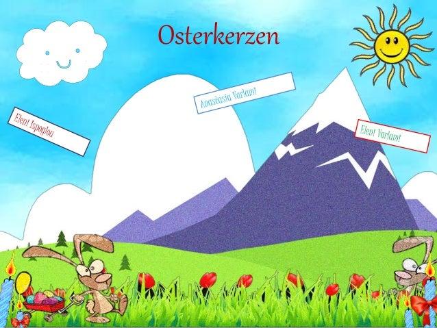 Osterkerzen