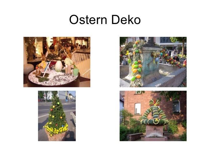 Ostern Deko