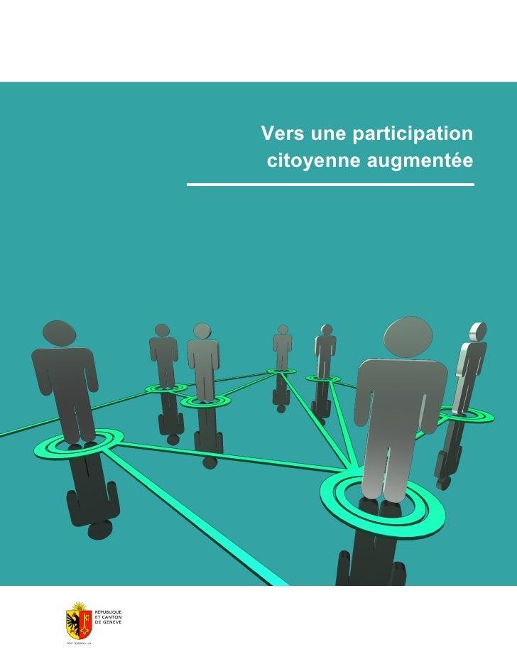 Vers une participation citoyenne augmentée