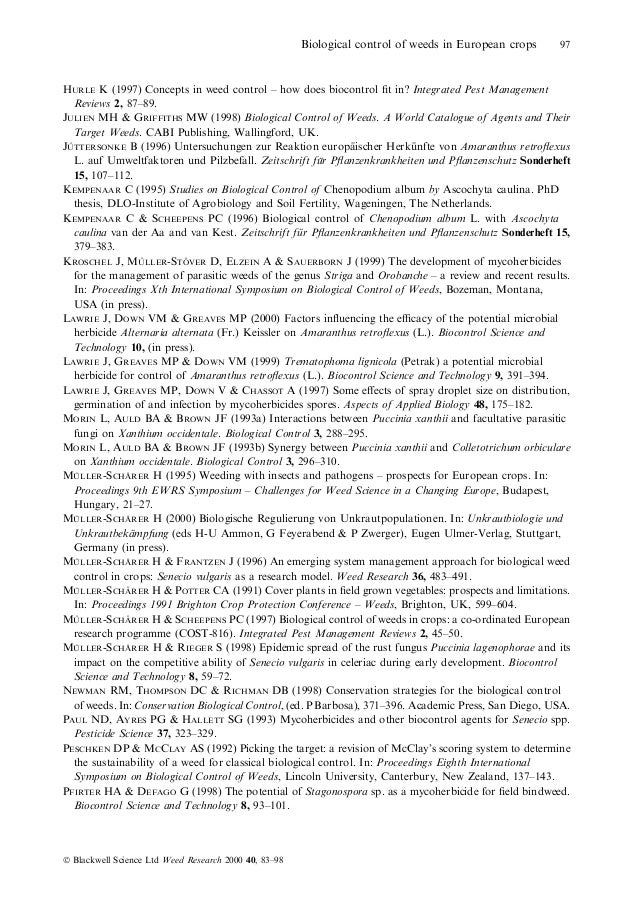 thesis on biocontrol