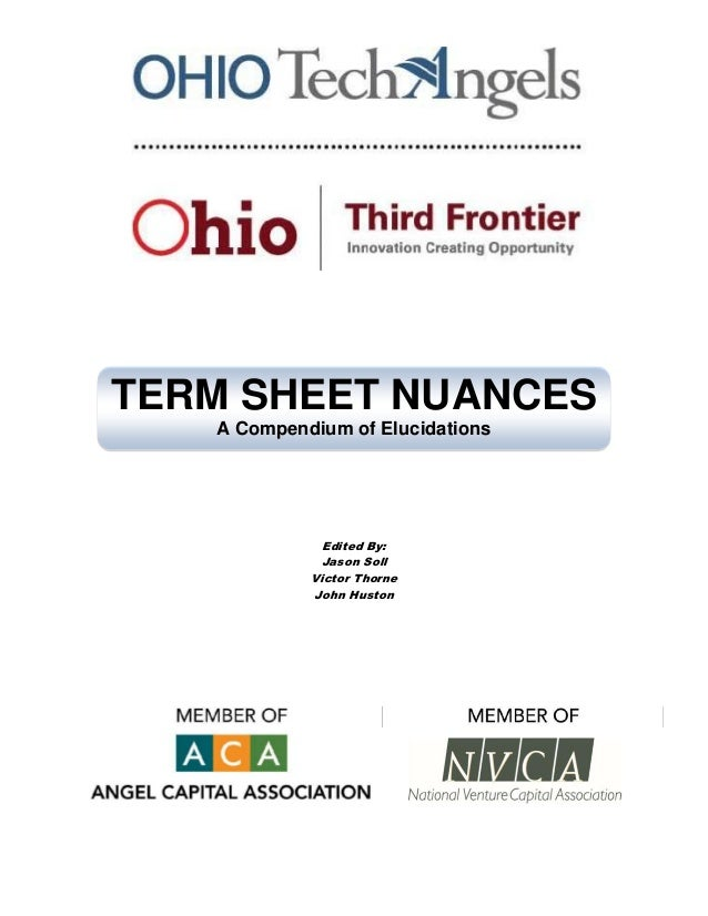 OTAF Term Sheet Nuances July 2011