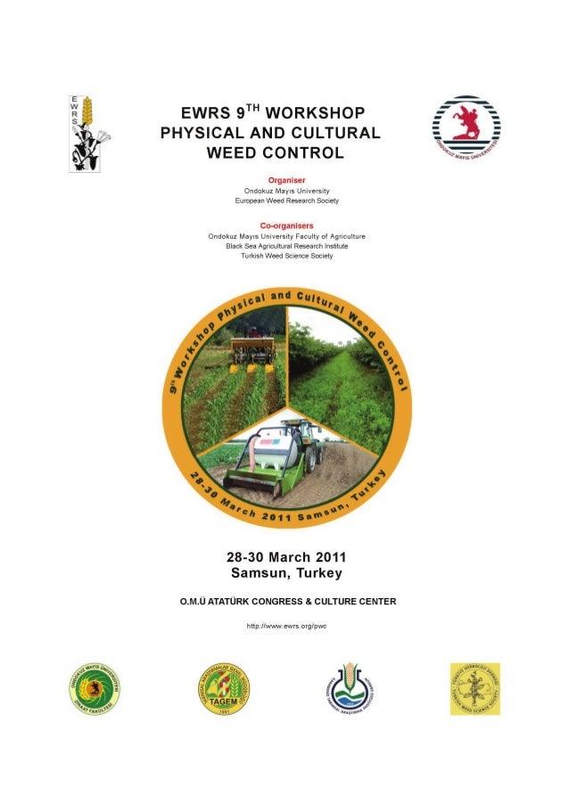 Physical and Cultural Weed Control ~ Ondokuz Mayıs University, Turkey