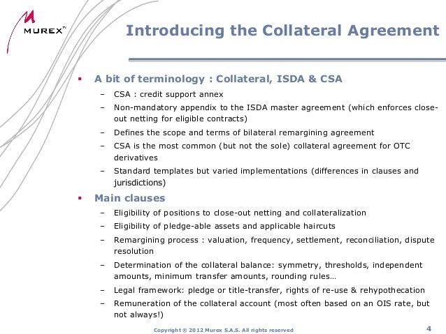 Collateralisation CVA & FVA Murex Alexandre Bon