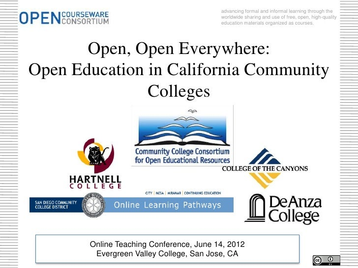 OTC Community College OER Panel